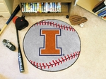 University of Illinois Baseball Mat [1956-FS-FAN]