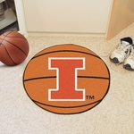 University of Illinois Basketball Mat 27'' Diameter [1959-FS-FAN]