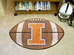University of Illinois Football Rug [1957-FS-FAN]