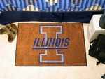 University of Illinois Starter Rug,19'' x 30'' [1962-FS-FAN]