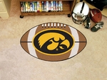 University of Iowa Football Rug [3889-FS-FAN]