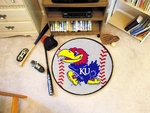 University of Kansas Baseball Mat 27'' Diameter [3609-FS-FAN]