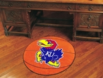 University of Kansas Basketball Mat 27'' Diameter [3603-FS-FAN]