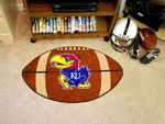 University of Kansas Football Rug 22'' x 35'' [3601-FS-FAN]