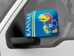 University of Kansas Large Mirror Covers - Set of 2 [12052-FS-FAN]