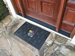 University of Kansas Medallion Door Mat [11359-FS-FAN]