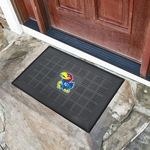 University of Kansas Door Mat - Outdoor 19'' x 30'' [11359-FS-FAN]