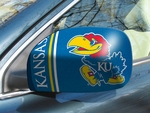 University of Kansas Small Mirror Covers - Set of 2 [12019-FS-FAN]