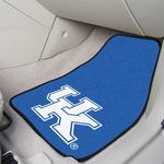 University of Kentucky Team Logo Carpet Car Mat 2 Pc 18'' x 27'' [5451-FS-FAN]
