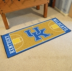 University of Kentucky Basketball Court Runner 30'' x 72'' [8262-FS-FAN]