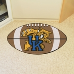 University of Kentucky Team Mascot Football Mat 22'' x 35'' [800-FS-FAN]