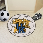 University of Kentucky Soccer Ball Mat 27'' Diameter - Mascot Design [801-FS-FAN]