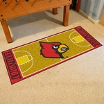 University of Louisville Basketball Court Runner 30'' x 72'' [8261-FS-FAN]