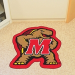 University of Maryland Mascot Mat Approx. 36'' x 36'' [7914-FS-FAN]