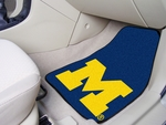 University of Michigan Carpeted Car Mat [5458-FS-FAN]