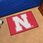 University of Nebraska Starter Rug,19'' x 30'' [2880-FS-FAN]