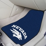 University of Nevada Carpet Car Mat 2 Pc 18'' x 27'' [5467-FS-FAN]