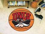 University of Nevada - Las Vegas Basketball Mat 27'' Diameter [1977-FS-FAN]