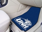 University of New Hampshire 2-piece Carpeted Car Mats 18'' x 27'' [5468-FS-FAN]