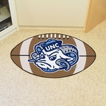University of North Carolina - Chapel Hill Team Mascot Football Mat 22'' x 35'' [2400-FS-FAN]