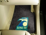University of North Carolina - Wilmington 2-piece Carpeted Car Mats 18'' x 27'' [5432-FS-FAN]