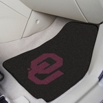 University of Oklahoma Carpet Car Mat 2 Pc 18'' x 27'' [5473-FS-FAN]