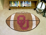 University of Oklahoma Football Rug [2389-FS-FAN]