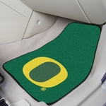 University of Oregon Carpet Car Mat 2 Pc 18'' x 27'' [5474-FS-FAN]