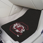 University of South Carolina Carpet Car Mat 2 Pc 18'' x 27'' [5481-FS-FAN]
