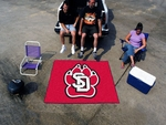 University of South Dakota Tailgater Rug 60'' x 72'' [3041-FS-FAN]