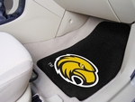 University of Southern Mississippi 2-piece Carpeted Car Mats 18'' x 27'' [5483-FS-FAN]