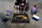 University of Southern Mississippi Tailgater Rug 60'' x 72'' [3731-FS-FAN]