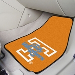University of Tennessee 2-piece Carpeted Car Mats 18'' x 27'' [8292-FS-FAN]