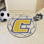 University of Tennessee - Chattanooga Soccer Ball Mat 27'' Diameter [2183-FS-FAN]