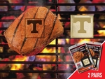 University of Tennessee Fan Brands 2 Pc 2'' x 2'' [13144-FS-FAN]