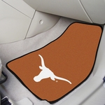 University of Texas Carpet Car Mat 2 Pc 18'' x 27'' [5641-FS-FAN]
