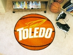 University of Toledo Basketball Mat 27'' Diameter [3346-FS-FAN]