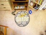 University of Toledo Soccer Ball Mat 27'' Diameter [3343-FS-FAN]
