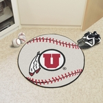 University of Utah Baseball Mat 27'' Diameter [3125-FS-FAN]