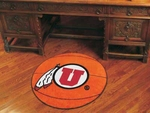 University of Utah Basketball Mat 27'' Diameter [3130-FS-FAN]