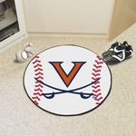 University of Virginia Baseball Mat 27'' Diameter [1938-FS-FAN]