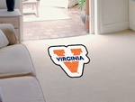 University of Virginia Mascot Mat Approx. 36'' x 36'' [8339-FS-FAN]