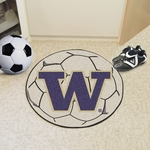University of Washington Soccer Ball Mat 27'' Diameter [2691-FS-FAN]