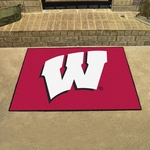 University of Wisconsin Team Logo All-star Mat 34'' x 45'' [1642-FS-FAN]