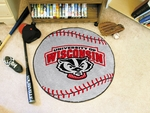 University of Wisconsin Baseball Mat 27'' Diameter [5179-FS-FAN]