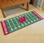 University of Wisconsin Runner 30'' x 72'' [7568-FS-FAN]