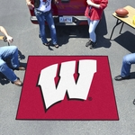 University of Wisconsin Team Logo Tailgater Mat 60'' x 72'' [1641-FS-FAN]
