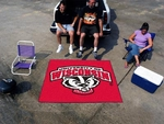 University of Wisconsin Tailgater Rug 60'' x 72'' [5126-FS-FAN]