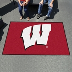 University of Wisconsin Team Logo Ultimat 60'' x 96'' [1646-FS-FAN]