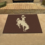University of Wyoming Team Mascot All-star Mat 34'' x 45'' [1580-FS-FAN]